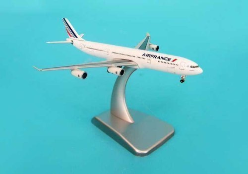 hogan-500-scale-die-cast-hg9291-air-france-a340-300-1-500-with-stand-and-gear-by-ben-hogan