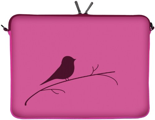 Digittrade LS122-15 Early Bird Borsa per PC portatile Notebook Sleeve Laptop neopren case custodia involucro protettivo 39,6cm (15,4 - 15,6 pollici)