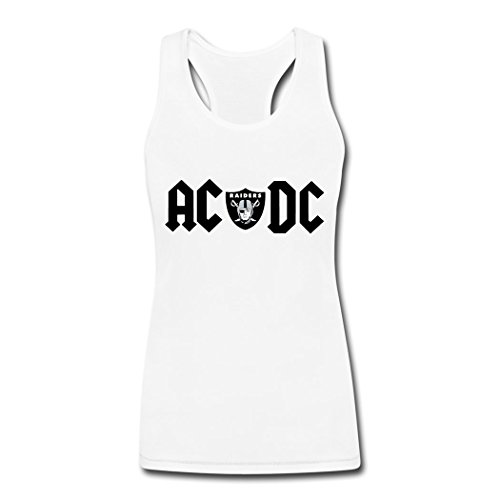 Female ACDC Raiders logo Tank tops S (Cool License Plate Frame For Men compare prices)