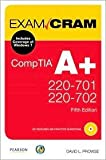 img - for CompTIA A+ 220-701 and 220-702 Exam Cram 5th (fifth) edition Text Only book / textbook / text book