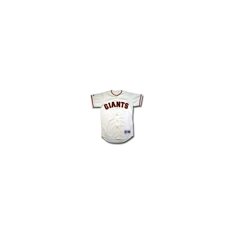 San Francisco Giants MLB Replica Team Jersey by Majestic Athletic (Home Cream size small)