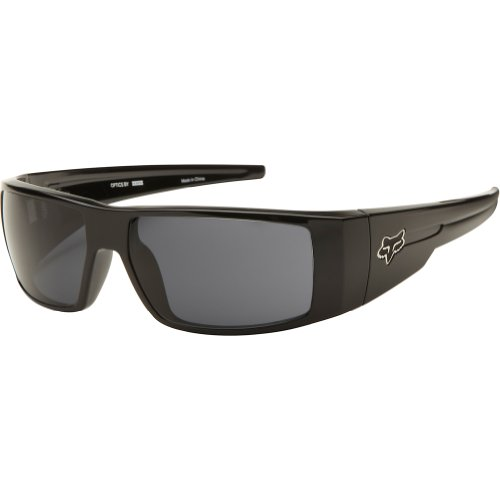 Fox The Condition 06323-901-Os Rectangular Sunglasses,Polished Black & Grey,59 Mm