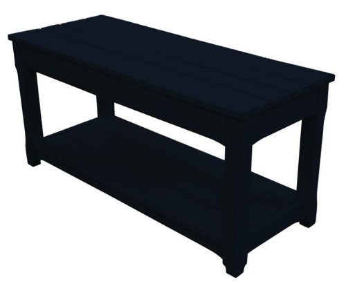 Miraculous Where To Purchase New Bench Black Painted Hardwood Planked Machost Co Dining Chair Design Ideas Machostcouk