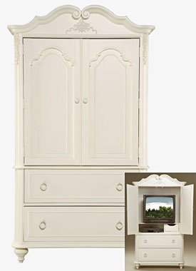 Violet Girls Twin Or Full Youth Bedroom Furniture Collection: Violet Door Chest/Media Center