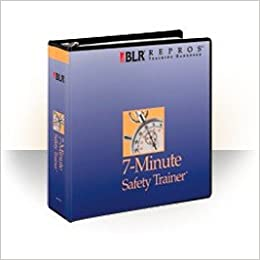 Minute safety trainer english loose leaf august 22 2011