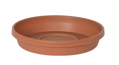 Fiskars TerraTray 20-51008C Plastic Tray for 8-inch TerraPot Planter, 7.40-inch diameter, Clay Color (Flower Pot Tray Plastic compare prices)