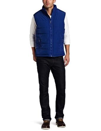 肯尼斯男士保暖背心 Kenneth Cole Men's Puffer Vest 蓝色$17.66