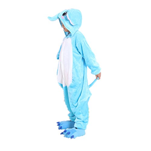Gzhy-children's Conjoined Animal Pajamas Anime Cartoon Design Elephant Cosplay Costume