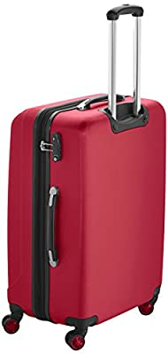 Packenger Premium Suitcase Velvet 3pcs-Set M, L and XL in red with TSA-lock from Packenger
