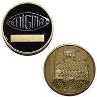 Enigma Machine - Challenge Coin