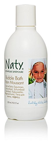 Naty Eco Bubble Bath, Perfume Free, 8.5-Ounce (Pack of 2)