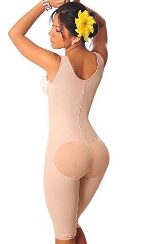 44dda154c928b Salome 0517 Women Post Surgery Full Body Shaper with Zipper Shapewear Fajas  Colombianas Reductoras Moldeadoras Completas ...