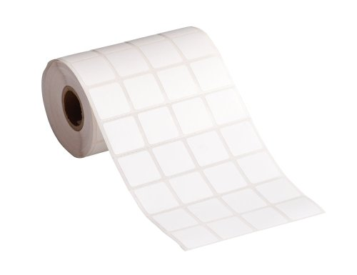 """Brady Tht-207-481-2.5-Sc 0.9"""" Width X 0.9"""" Height, B-481 Super Chemical Resistant Polyester, Matte Finish White Stainerbondz Slide Label - 1"""" Core (2500 Per Roll)"""