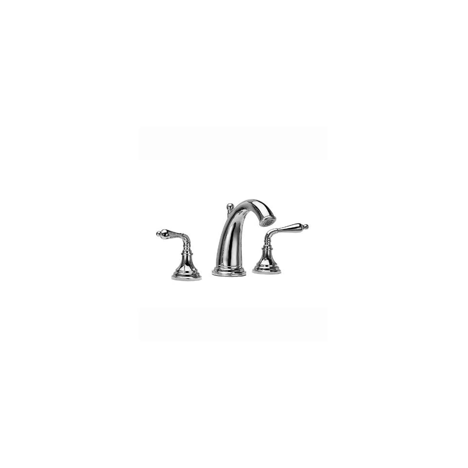 Jado 888/803/144 New Classic Widespread Lavatory Faucet, Straight Lever Handles, Brushed Nickel
