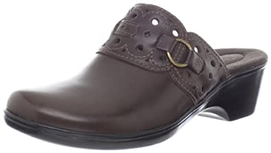 Clarks Women's Clarks April Honor Clog,Brown,6 M US