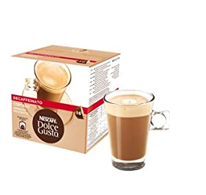 Choose Box Of Nescafe Dolce Gusto Cortado Decaf Decaffeinated Coffee Pods by Nescafe