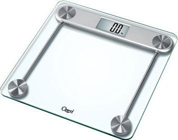 Cheap Ozeri Pro Series Digital Bathroom Scale with Large 3 inch Widescreen LCD Display (ZB010)