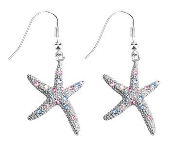 Starfish Earrings - Collectible Jewelry Accessory