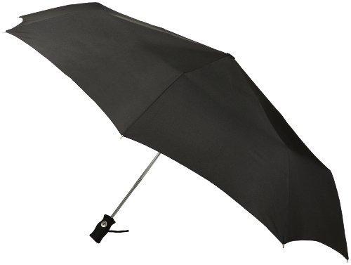 Totes Signature SuperDome Auto Open/Close Umbrella, Black, One Size image