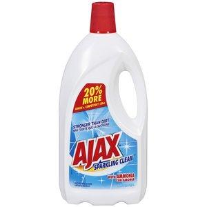 Amazon.com: Ajax Sparkling Clean Multi-Purpose Cleaner With Ammonia