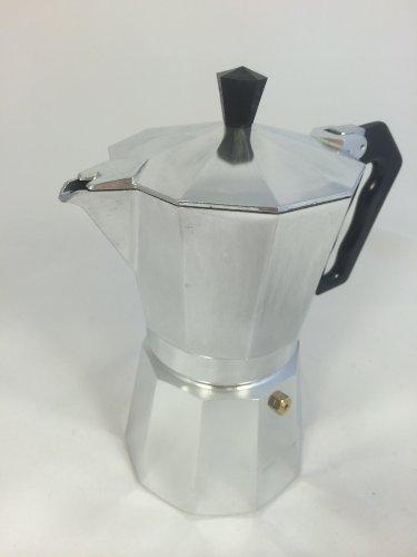Eppicotispai Buon Caffe Aluminum 3-Cup Moka Stovetop Espresso Maker (Italian Made Espresso Maker compare prices)