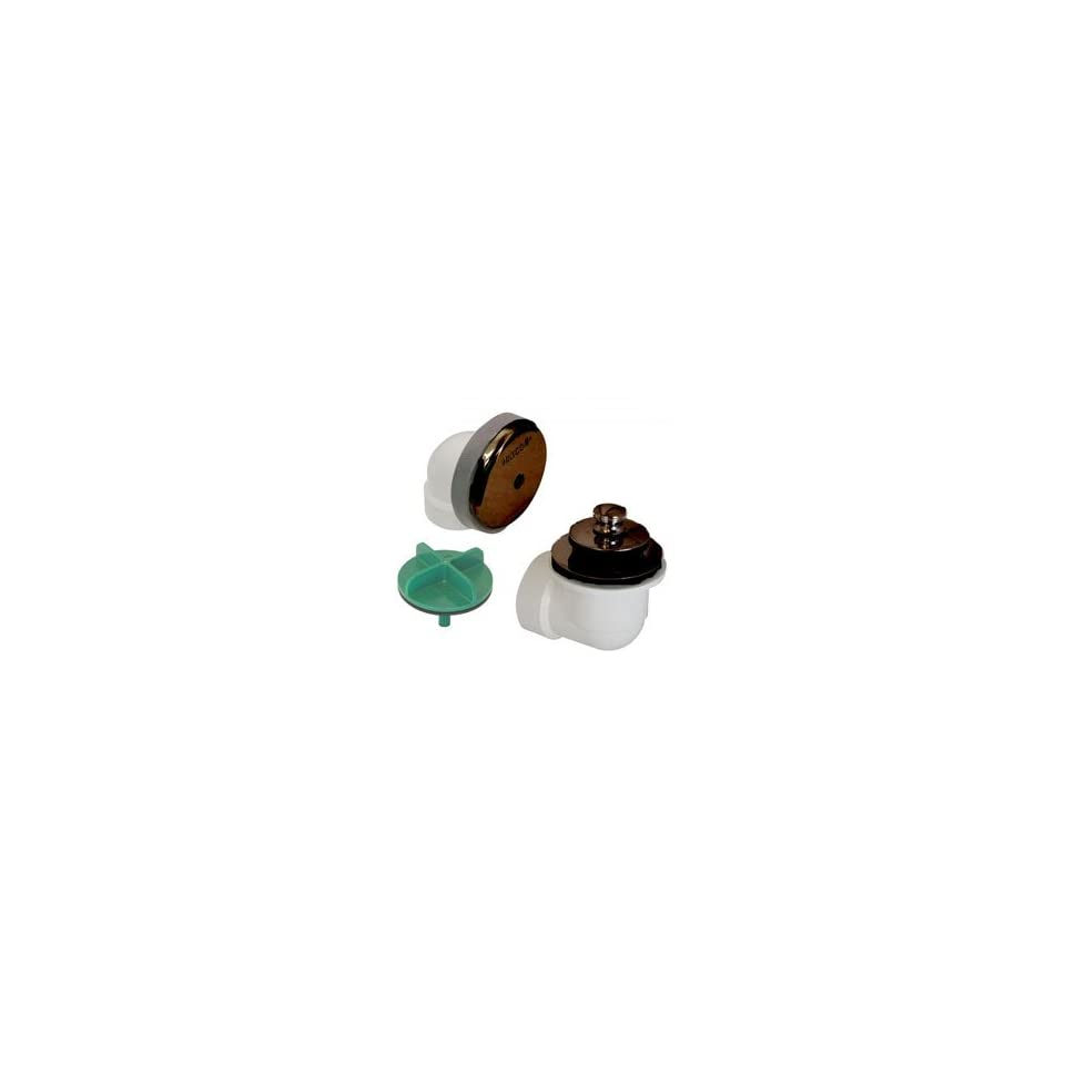 Oil Rubbed Bronze Watco Manufacturing 981-CA-ABS-BZ 1.5-Inch Schedule 40 ABS Piping Innovator Cable Bath Waste Half Kit