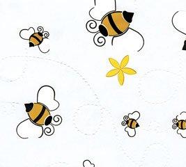 """Adorable Bumble Bee (24"""" X 100') Cellophane Roll Wrap"""