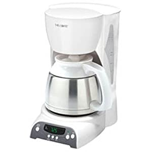 Mr Coffee Thermal Coffee Maker 8 Cup : Amazon.com: Mr. Coffee DRTX84 8-Cup Thermal Coffee Maker, White: Kitchen & Dining