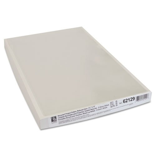 C-Line - Recycled Project Folder, Jacket, Legal, Poly, Clear, 25 Per Box 62129 (Dmi Bx