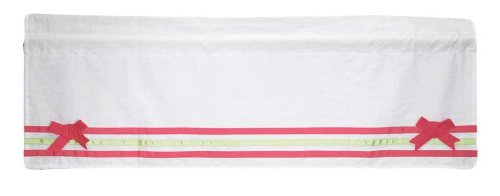 Bananafish Fuchsia Damask Window Valance - 1