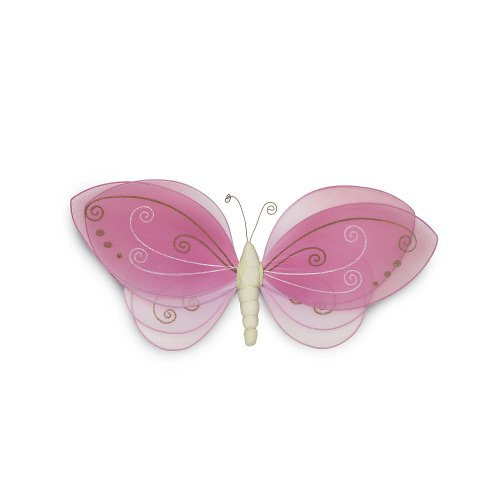 Koala Baby Butterfly Mesh Wall Decor- Pink - 1