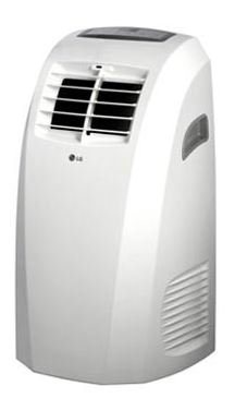 Manufacturer Refurbished LG LP0910 9,000 BTU Home Electric Air Conditioner Portable AC w/Dehumidifier