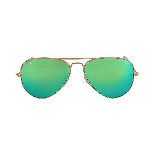ray-ban-aviator-large-metal-matte-gold-frame-crygreen-mirror-multilgreen-lenses-58mm-non-polarized
