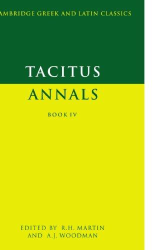 Tacitus: Annals Book IV (Cambridge Greek and Latin...