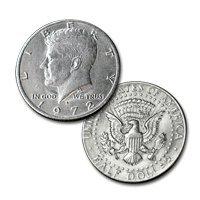 Flipper Coin Kennedy Half by Johnson Precision Magic