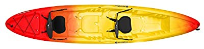9350645042 Perception Kayak Rambler Sunset Kayak, Red/Yellow, Size 13.5 T by Confluence Kayaks