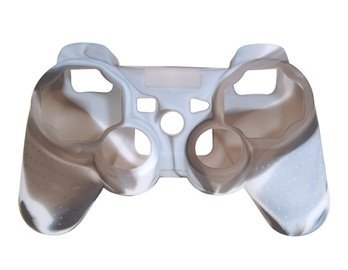 Camouflage Silicone Case for DualShock 3 Wireless Controller (Camouflage White)