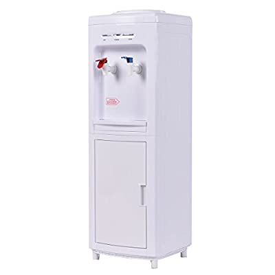 Giantex Water Cooler Dispenser 5 Gallon Cold And Hot Bottle Load Electric Primo Home