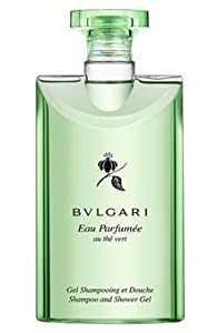 Bvlgari au the vert (green tea) Shower Gel 2.5oz Set of 3