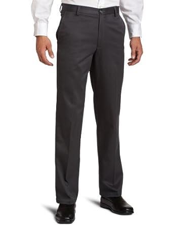 Dockers Men's Signature Khaki D2 Straight Fit Flat Front Pant,Iron Grey,29X30