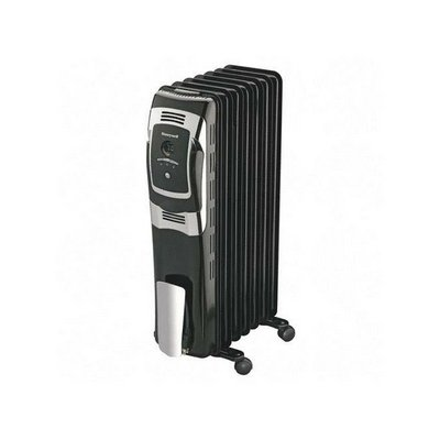 Honeywell HZ-709 7 Fin Oil Filled Radiator Heater with Digital Controls