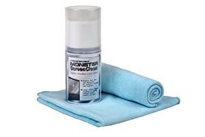 Monster TV CLNKIT Alcohol-Free ScreenClean Kit [Amazon Frustration-Free Packaging]