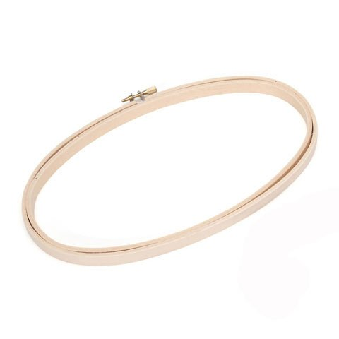 Bulk Buy: Darice DIY Crafts Wooden Embroidery Hoops Oval 5 x 9 inches (6-Pack) 39106 (Embroidery Oval Hoop compare prices)