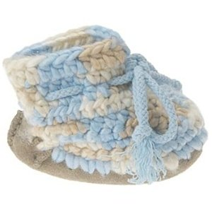 UGG Kids' Baby Crochet Inf (Blue Multi 20.5 OT)