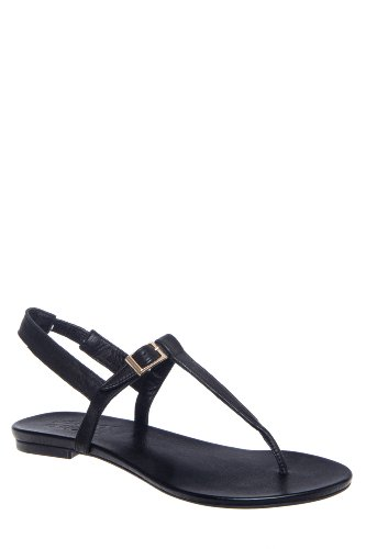 Dandy T-Strap Slingback Flat Thong Sandal