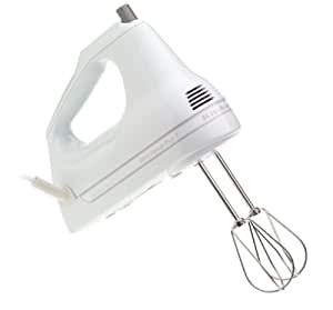 KitchenAid® Artisan® 7-Speed Hand Mixer - White