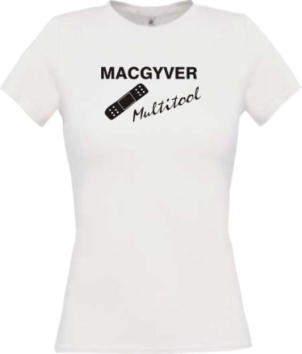 shirtinstyle-lady-shirt-mac-gyver-multitool-pflaster-funstuff-farbe-weiss-grosse-xl
