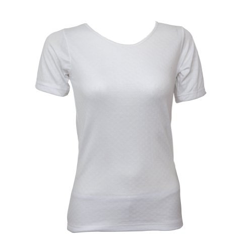 Ladies/Womens Thermal Underwear Short Sleeve T-Shirt Top (Heat Trap Range)