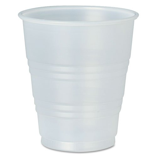 SOLO Cup Company Galaxy Translucent Cups, 5 oz, Plastic - Includes 20 bags of 100 cups.