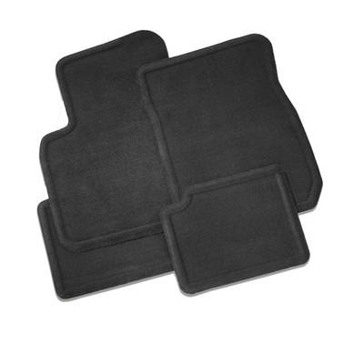 Gm # 15147024 Floor Mats - Front And Rear Carpet Replacements - Ebony - Without Retainers front-468788